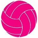 pinkvolleyball