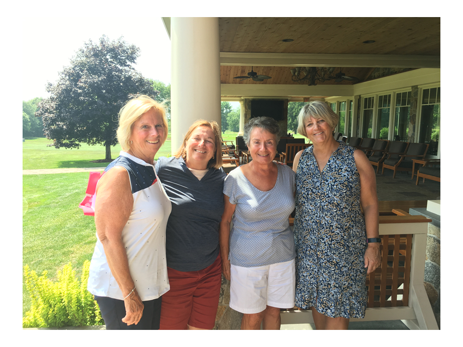 Each year members of the Women's Association of Great Neck Country Club in Waterford organize a golf tournament to benefit the Terri Brodeur Breast Cancer Foundation, which funds grants to young doctors and researchers looking for a cure for breast cancer.