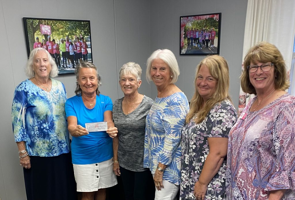 Pictured (l-r) Mary Guertin; Pat Romano; Kathie Vannini; Mary O'Reilly; Amy Caster and Kate Davis. Not pictured, but part of the committee: Cathy Patterson.